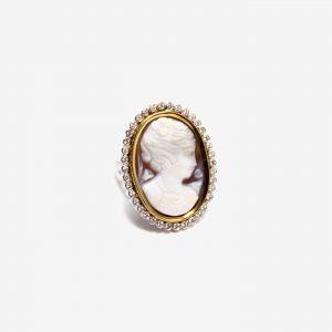 Кольцо «Камея»